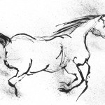 Free Spirit - 56cm by 69cm - ink