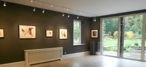 Paintings by Andie Clay - Lovely Ladies exhibition, Deniae Yapp Contemporary Art